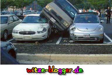 Parkplatz Mangel Lustig