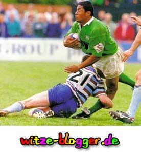 Fussballverletzung