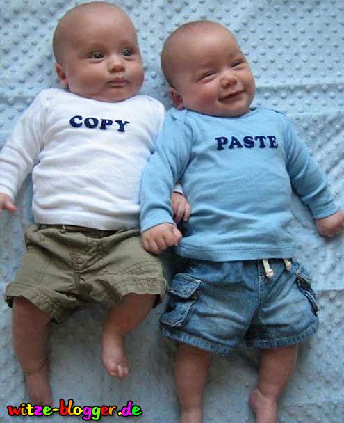 Kopierte Babys