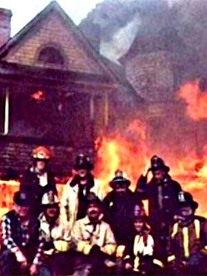Feuerwehr Pause - Haus brennt