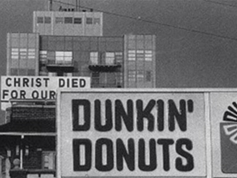 Dunkin Donuts Jesus