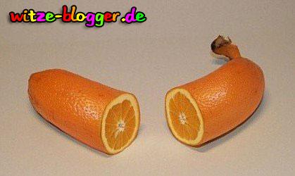 Banane oder Orange? Eine Orangnane!