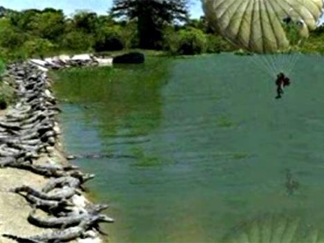 Fallschirmsprung in den Tod