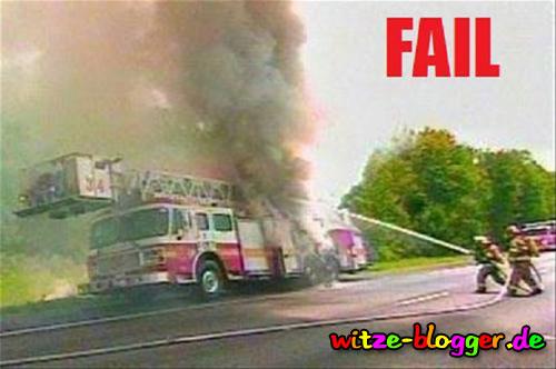 Feuerwehr löscht