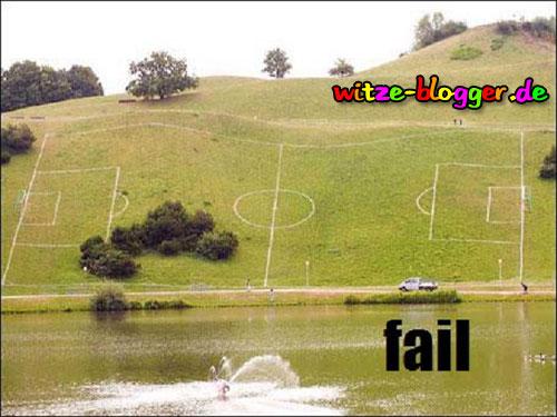Fussball Platz mal anders