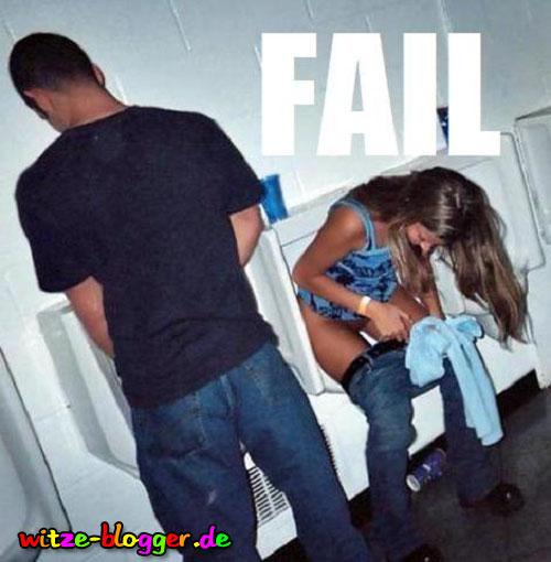 Männer Toilette