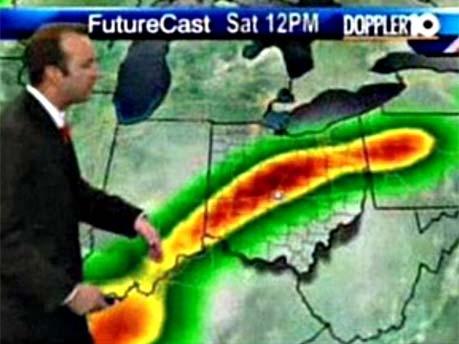 Wettervorhersage mit Penis