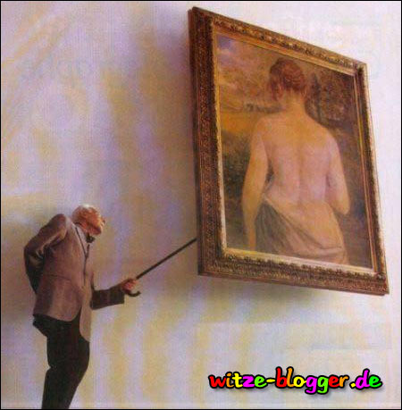 Kunst Bild - andere Seite