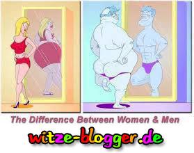 Unterschied zwischen Mann und Frau