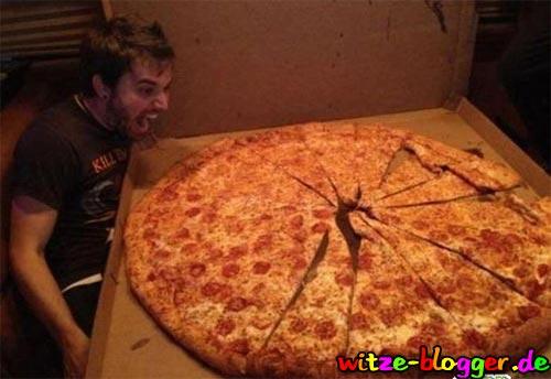 Große Pizza