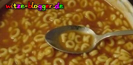 Lustige Buchstabensuppe