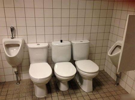 toilet construction design