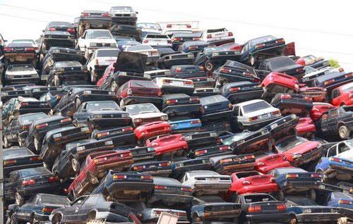 Auto Schrottplatz